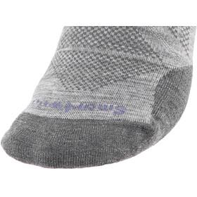 Smartwool PhD Pro Approach Light Elite Crew Socks Damen light gray
